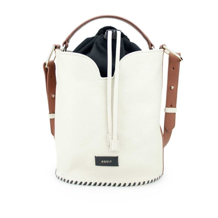 Sackville Bucket Bag lait simple, Coolt, made in Italy