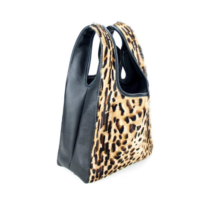 Bobos minibag feline black. Coolt, Fall 2018, Made in Italy