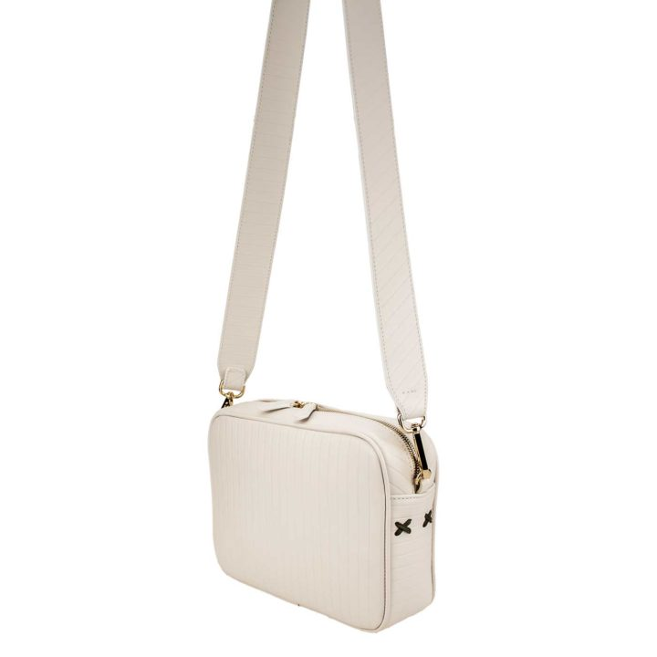 Camera bag white. Coolt, Fall 2019, Made in Italy